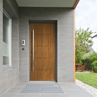 Fiberglass Textured Door from Mastergrain